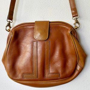 Vintage Lanvin JL signature Crossbody Bag